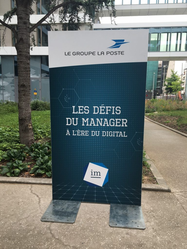 LA POSTE INSTITUT DU MANAGEMENT