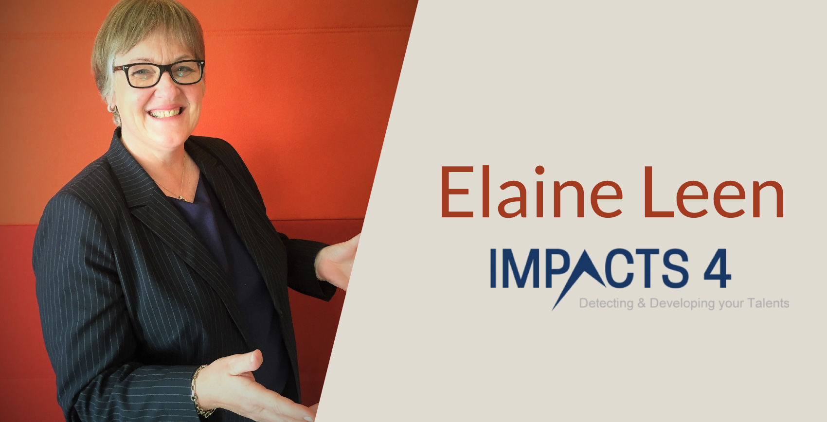 interview de Elaine Leen de Impacts4
