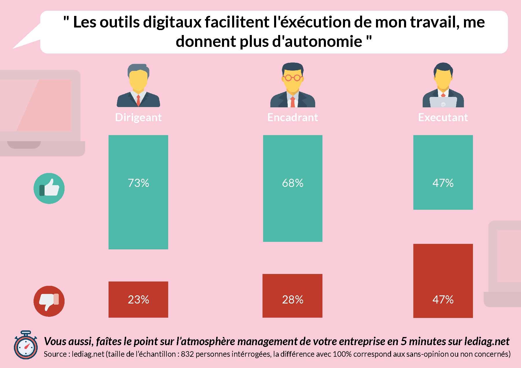 infographie autonomie digitale