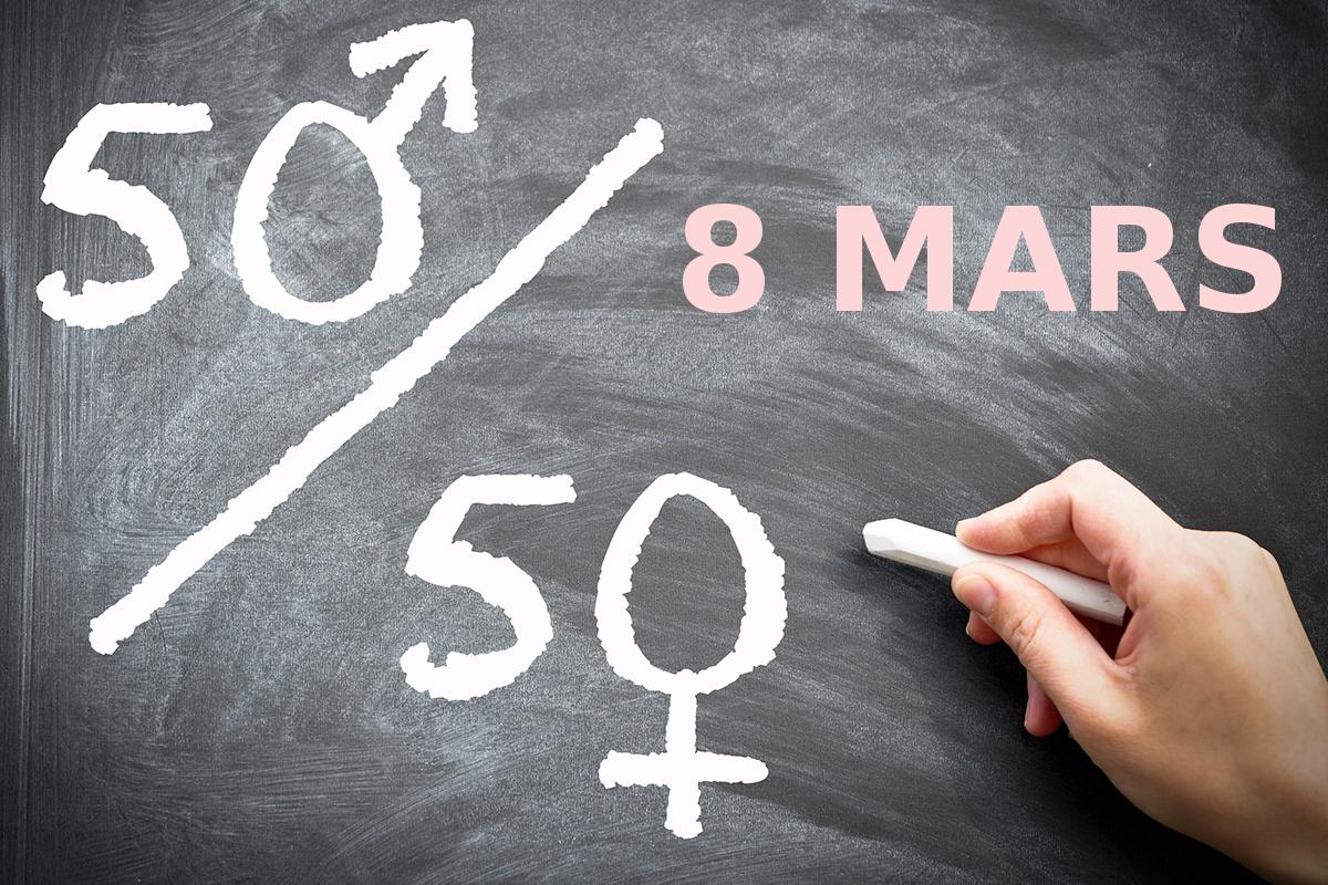 gender equality 8 mars