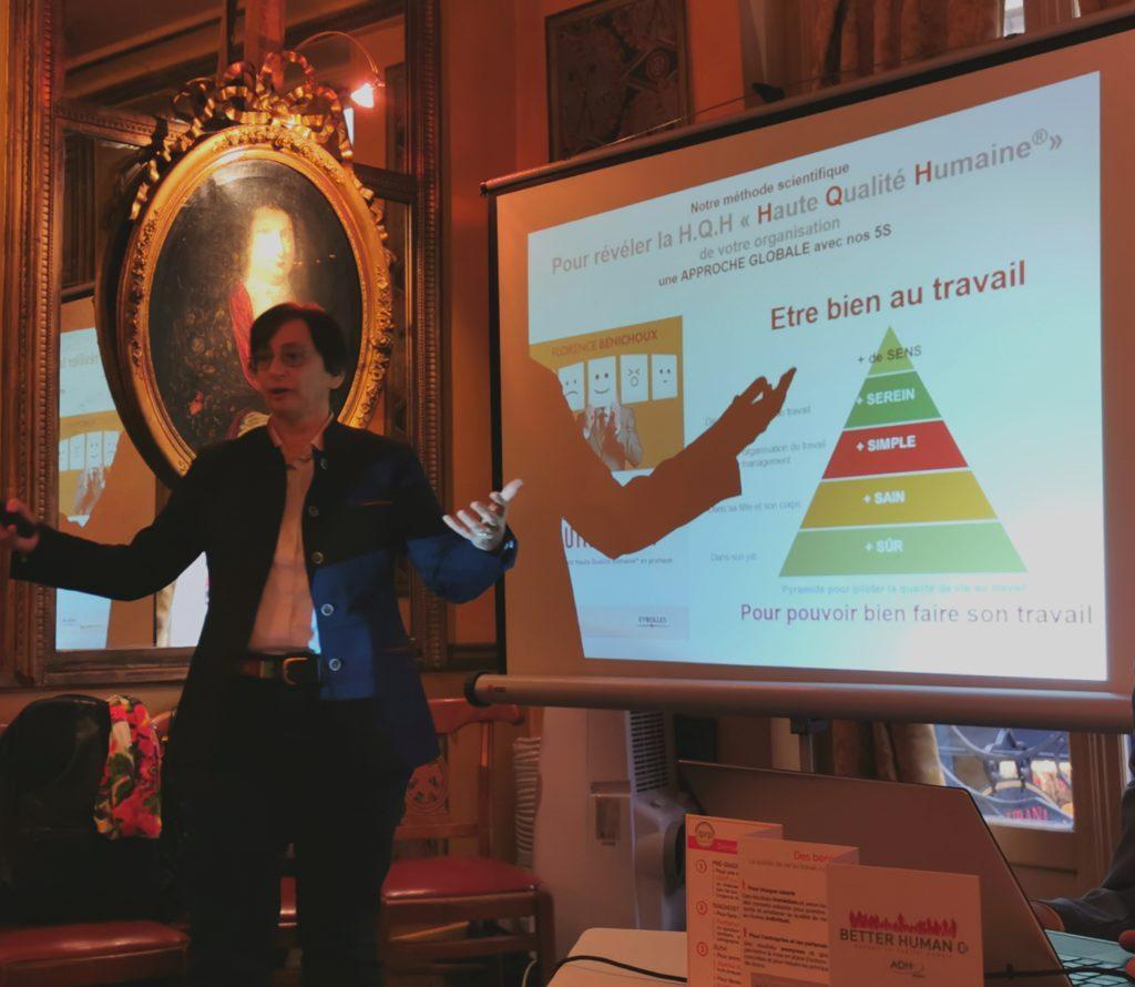 Florence BENICHOUX présente la pyramide H.Q.H. de Better Human